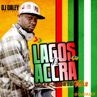 DJ DALEY LAGOS TO ACCRA FRONT COVER